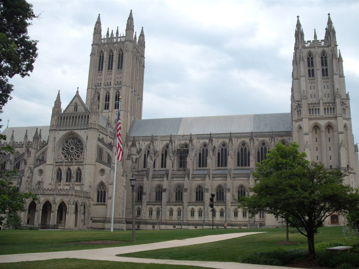 (Washington National Cathedral, photo de Vincent CHARLES, 16/07/2009)