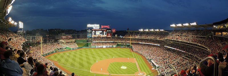 (Nationals Park, photo de Skinsfan2512, 10/05/2013, wikipédia)