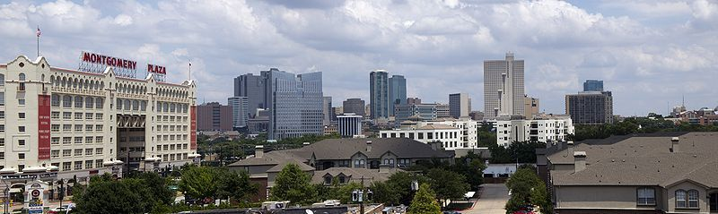 (Fort Worth, Texas, photo de Adam Stanford, 30/06/2010, wikipédia)