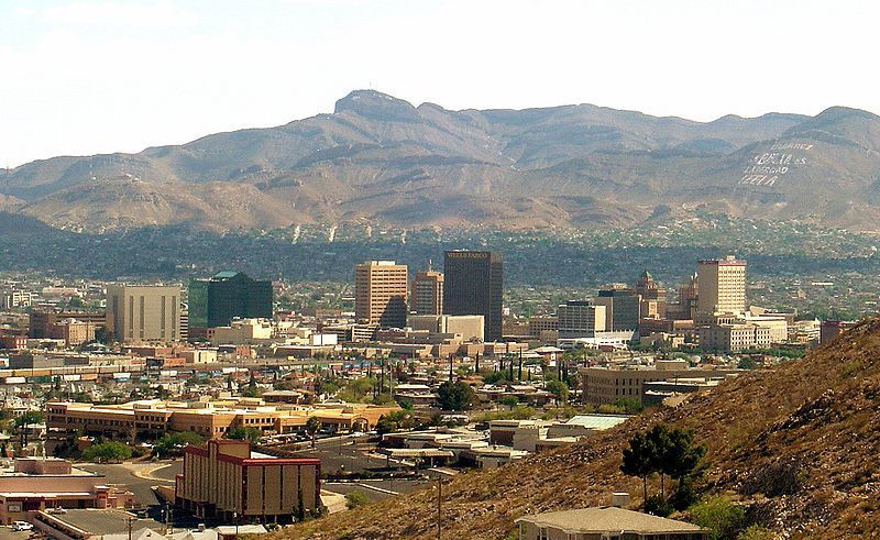 (El Paso, Texas, photo de Smguy101, wikipédia)