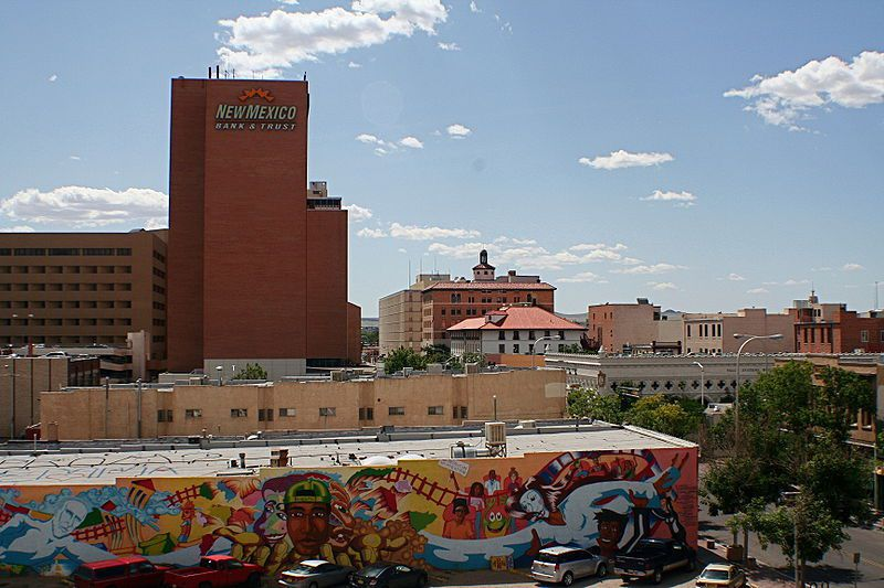 (Albuquerque, Nouveau-Mexique, photo de Asaavedra32, wikipédia)