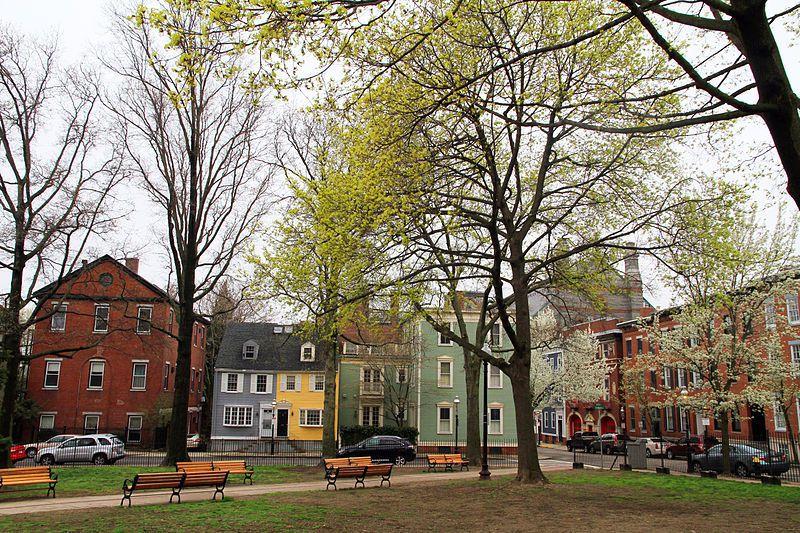 (Winthrop Square, photo de Ingfbruno, 23/04/2013, wikipedia)
