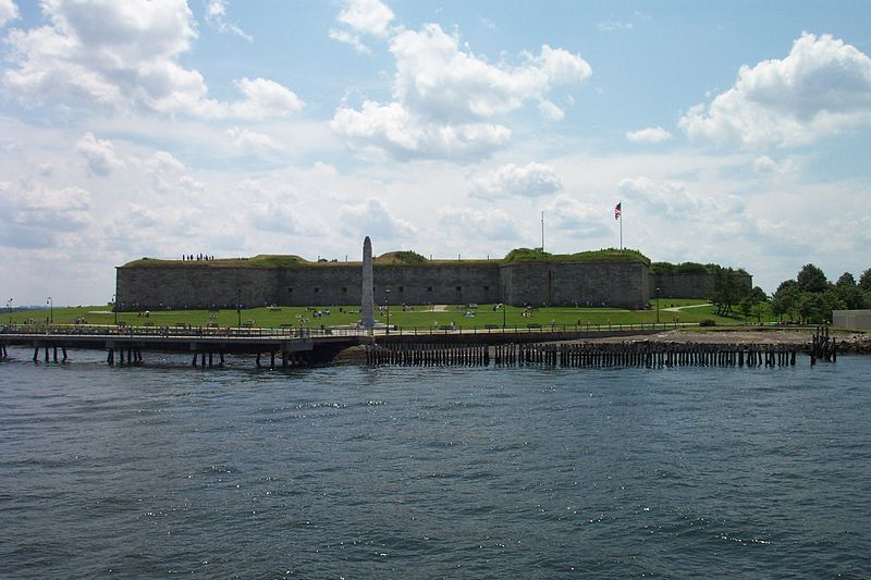 (Fort Independance, Castle Island, photo de