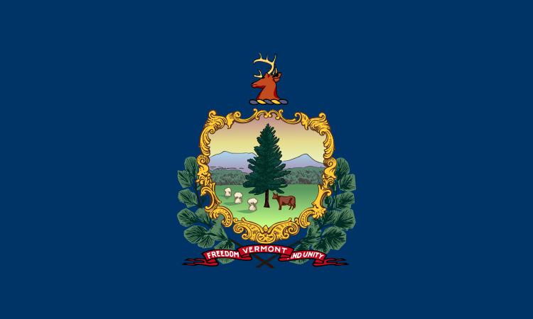 (Drapeau du Vermont, image de Simtropolitan, wikipedia)