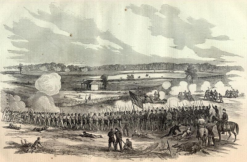 (Bataille de Perryville, 01/11/1862, image www.sonofthesouth.net, wikipedia)