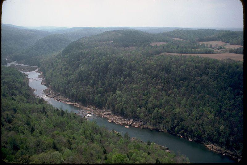 (Obed River, photo US National Park Service, www.nps.gov)
