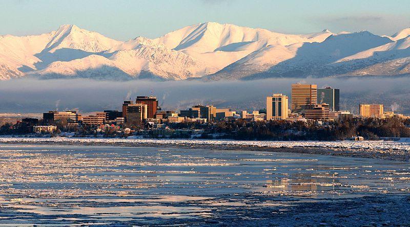(Anchorage, photo de Frank K&#x3B; from Anchorage, AK, 10/02/2008, www.flickr.com, wikipedia)