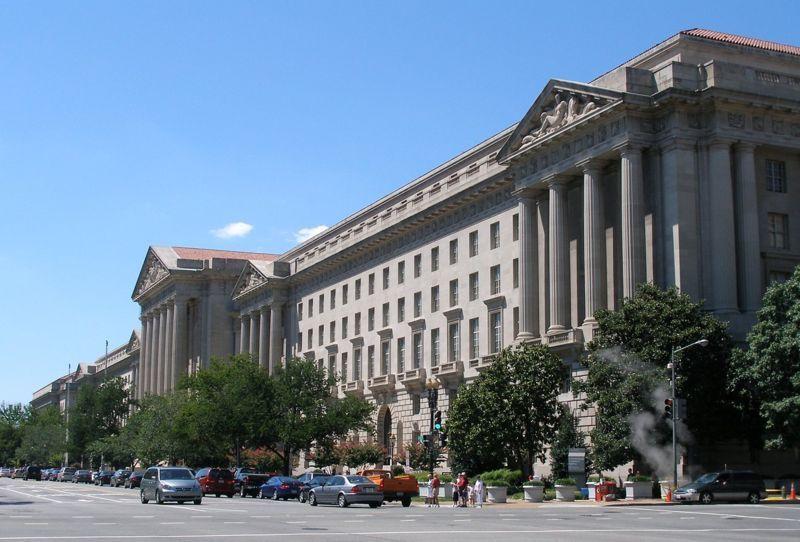 (Quartier général de l'EPA à Washington DC, photo de Coolcaesar, 25/08/2006, wikipedia)