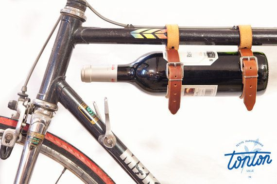 Made in France! Sangles porte-bouteille.