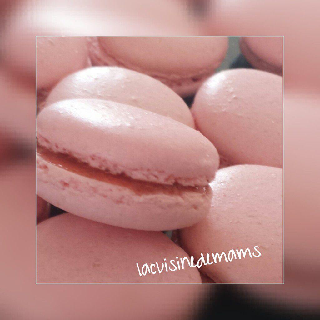 Macarons a la fraise