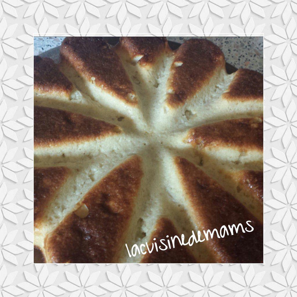 Gâteau aux flocons d'avoine et semoule
