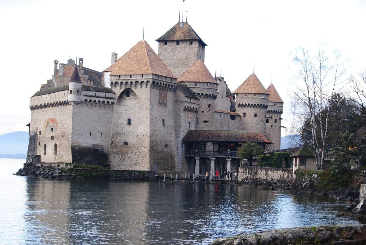 château de Chillon (photo E Coux)