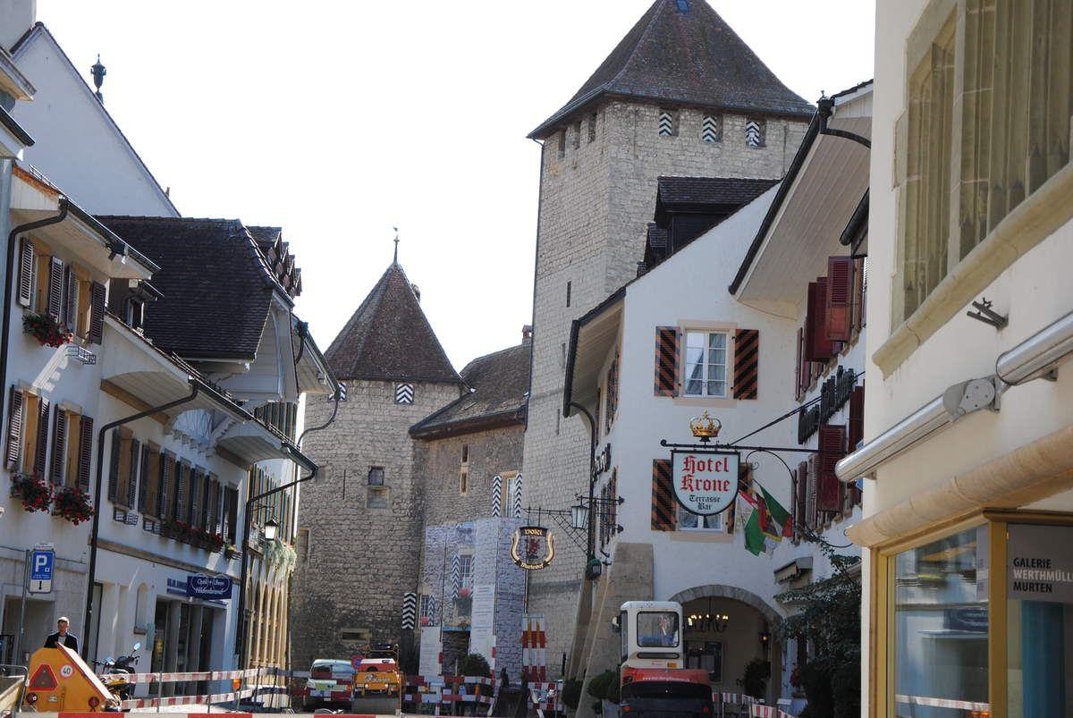Château de Morat (Murten) qui a été une demeure d'Humbert de Savoie.