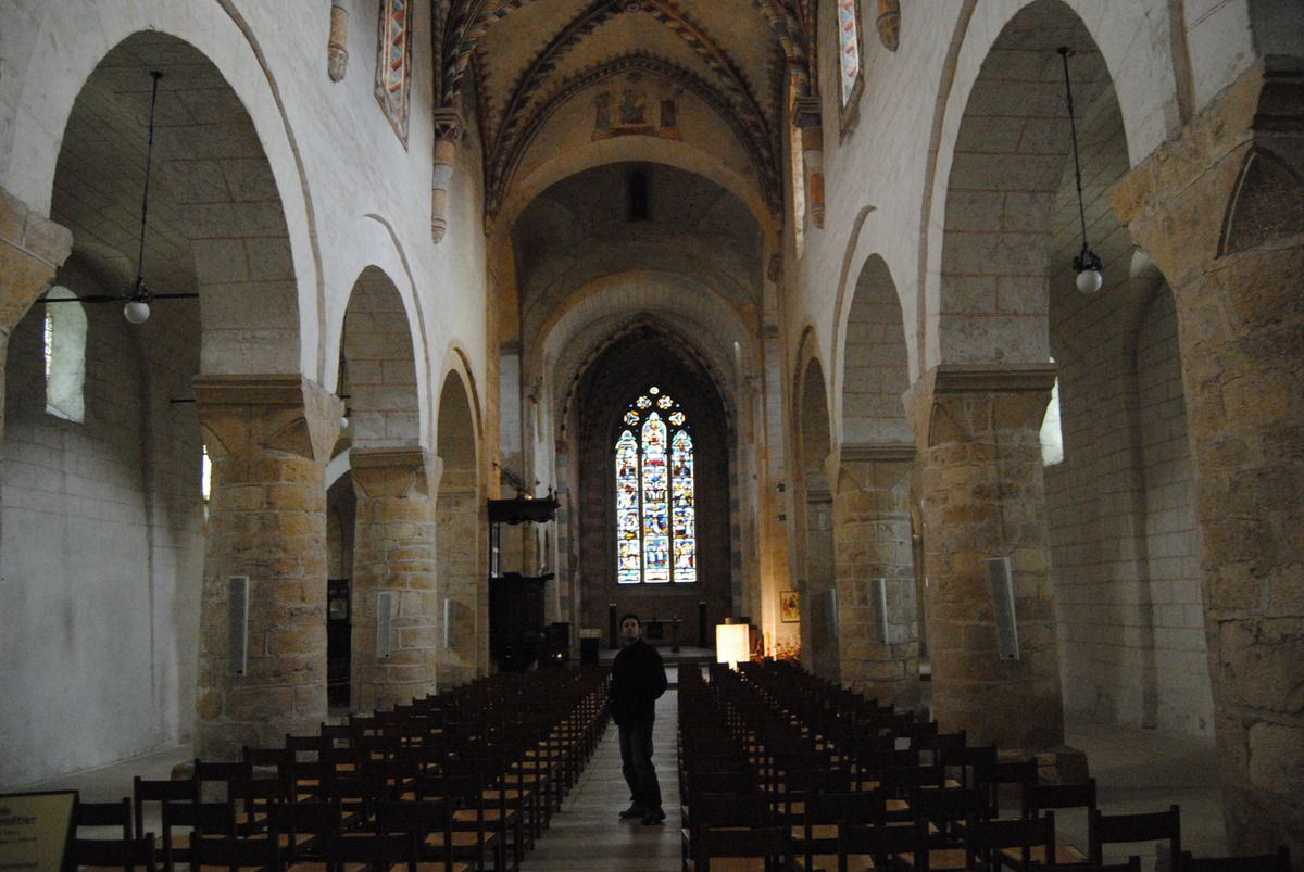 Abbatiale de Romainmôtier (Photo E. Coux)