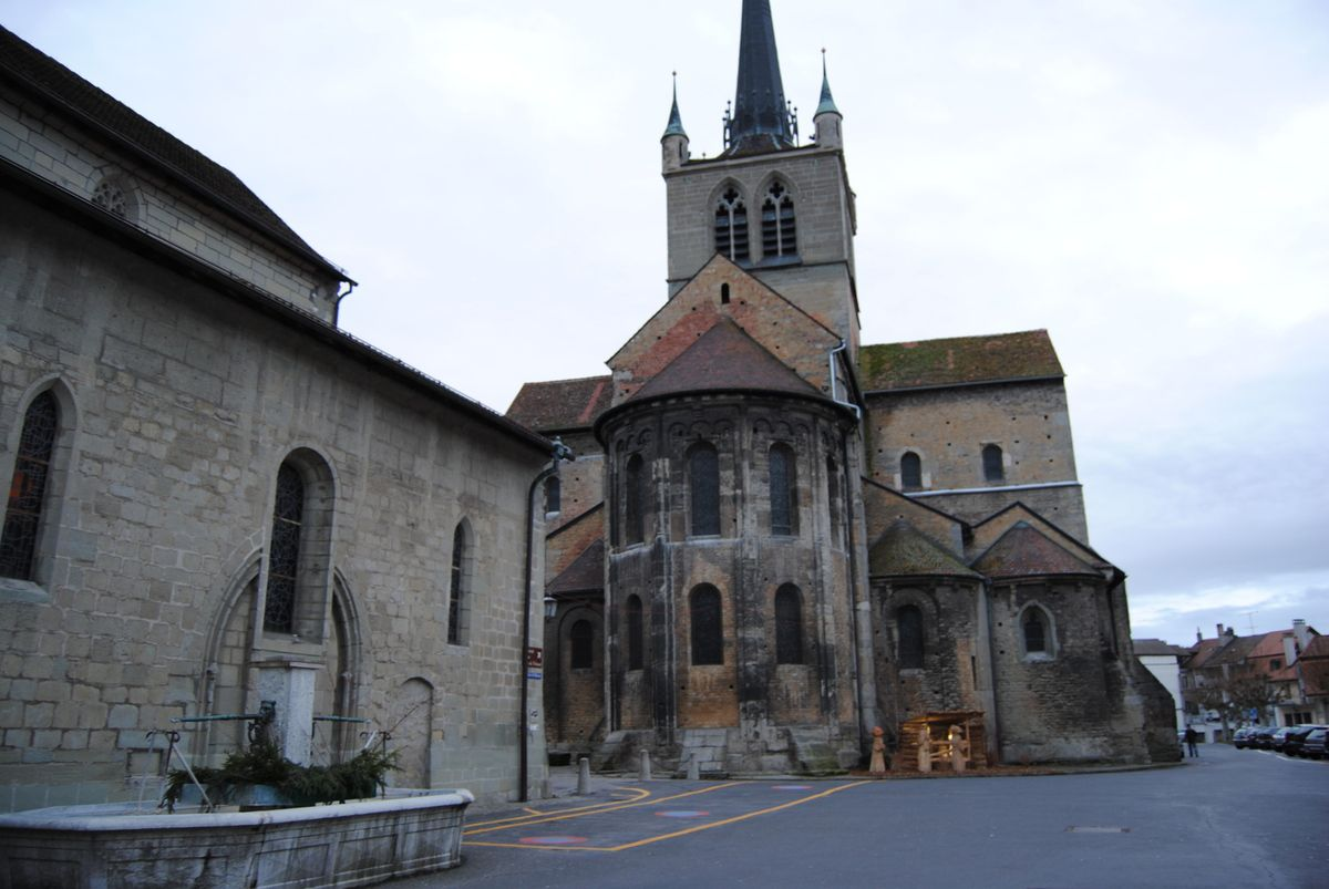 abbatiale de Payerne (Photo E. Coux)