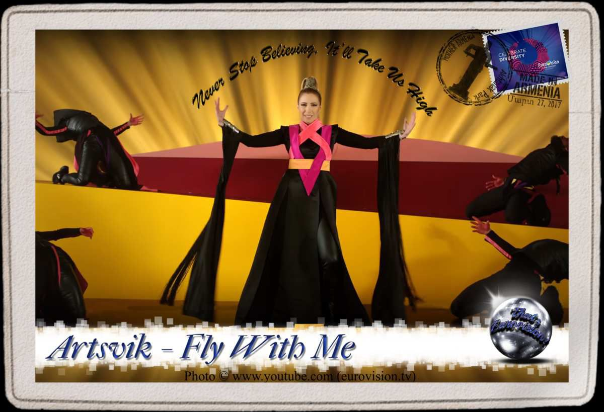 Armenia - Artsvik (Fly With Me) Lyrics