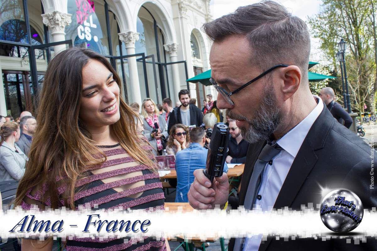 France - Alma - L'Eurovision, un événement magique !