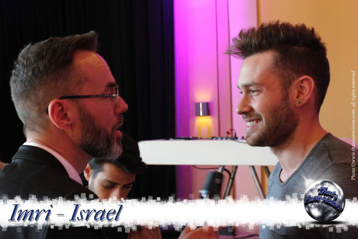 Israel - Imri - I'm Gonna do the Best Performance I can do!
