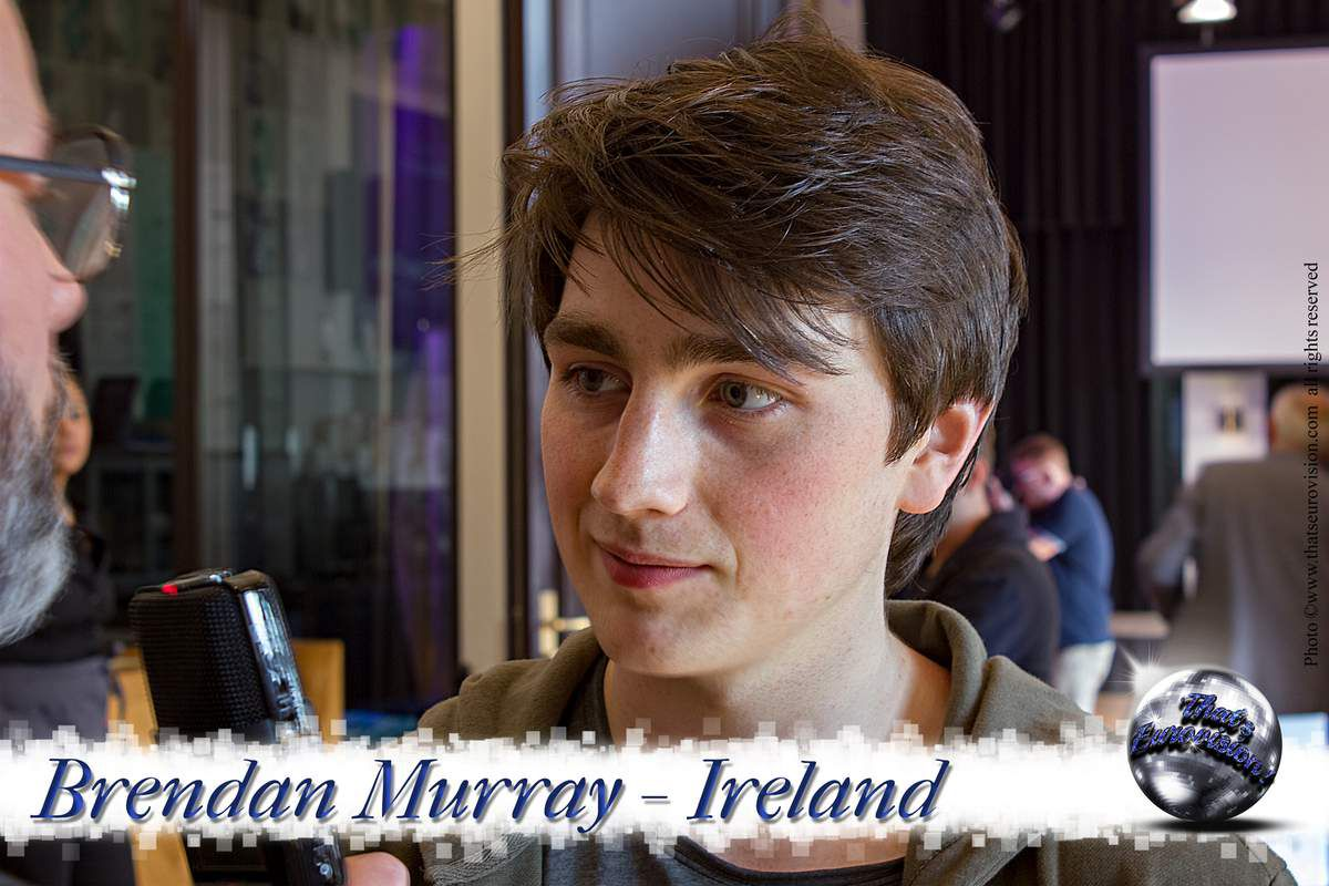 Ireland - Brendan Murray - Eurovision is not an Opportunity that Knocks at your door Everyday!