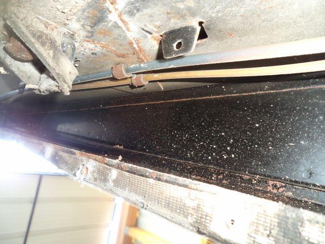 état chassis et TDB avant travaux traitement Férose