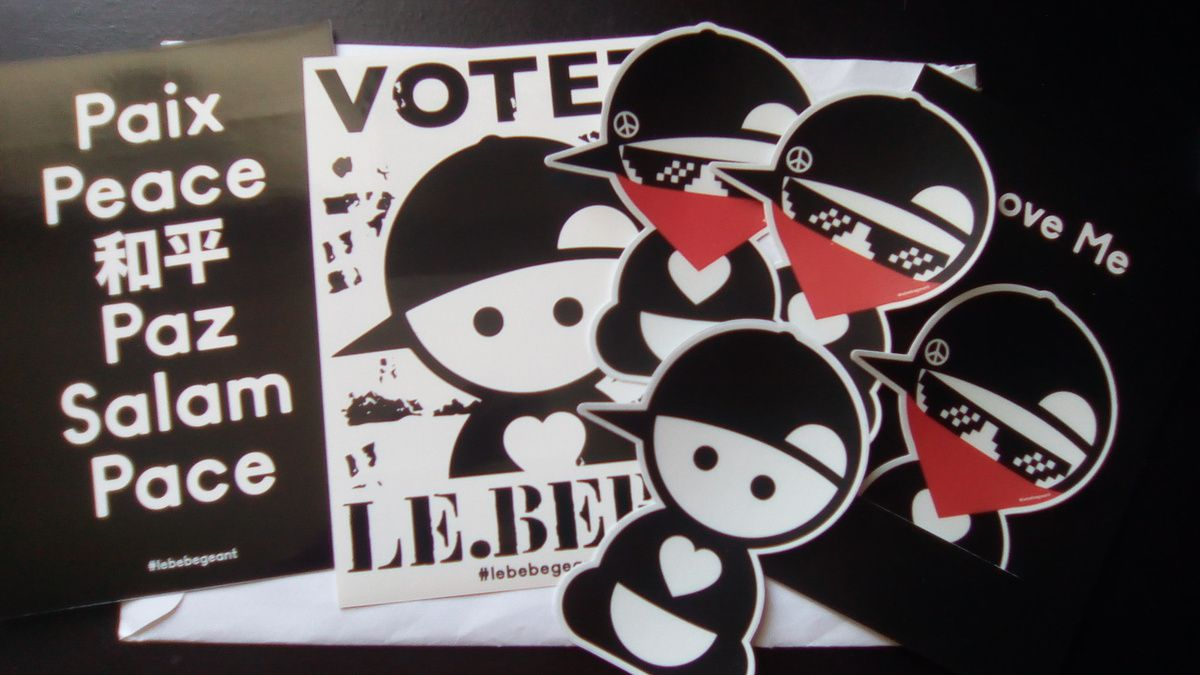 Project Stickers Around the World