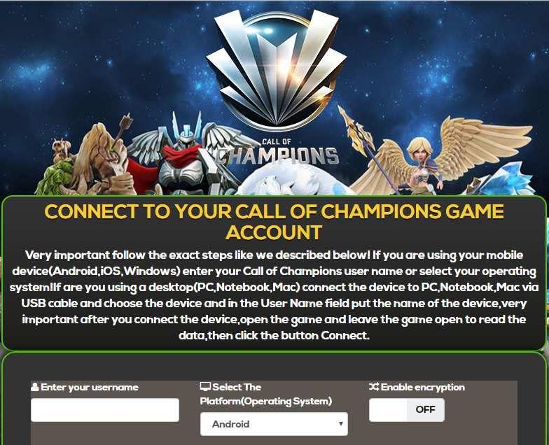 Call of Champions Cheats No Survey and No Human Verification