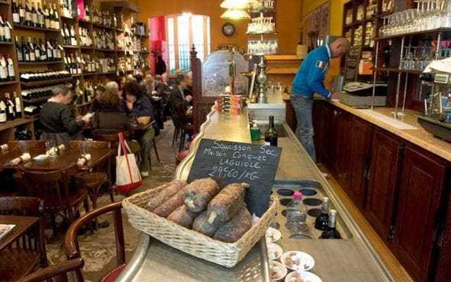 You can still pop in to buy a saucisson sec or bottle of wine