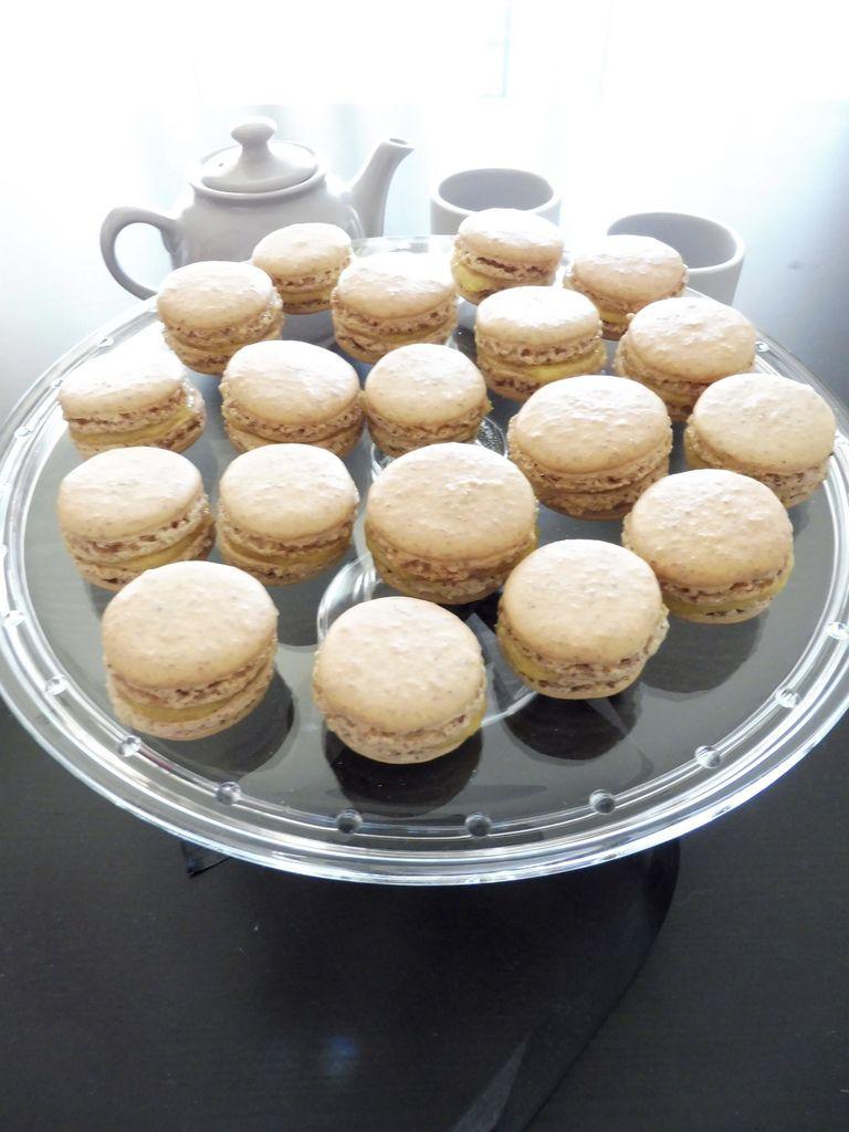 Macarons à la mangue (amandes complètes)