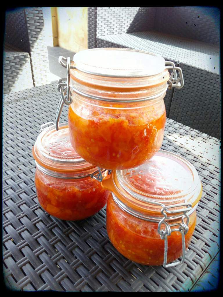 Sauce tomates / French Cocotte