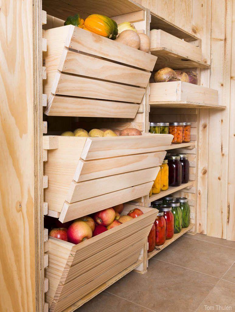 Bac à légumes pour cave ou cellier