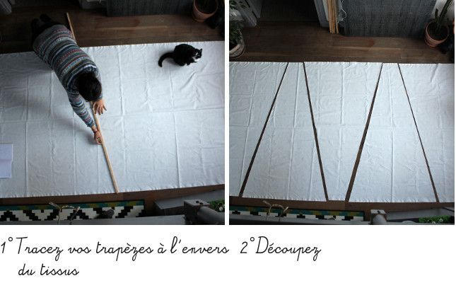 diy bricolage fabriquer un tipi pour ses enfants en. Black Bedroom Furniture Sets. Home Design Ideas