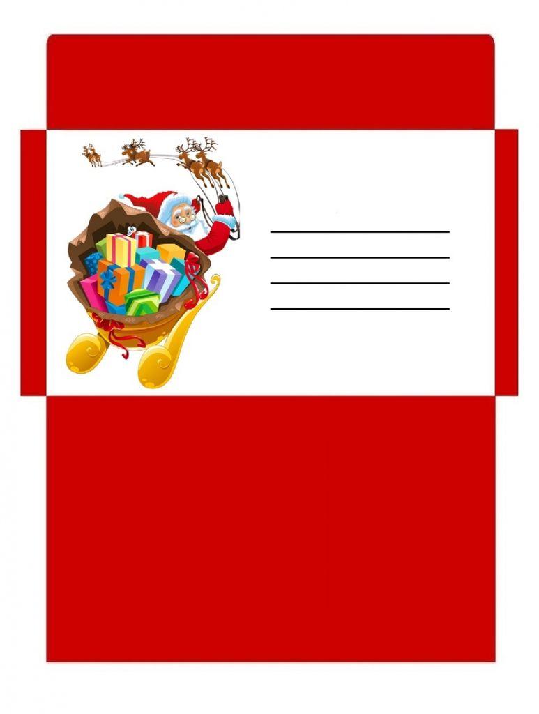 Enveloppes de NOEL , à imprimer !