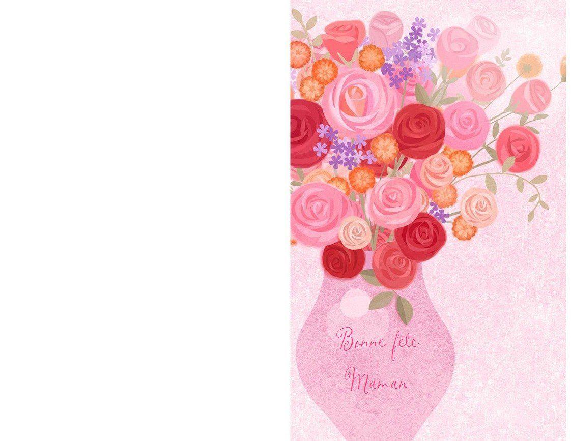 Carte Bonne Fete Maman A Imprimer Gratuit.Cartes Bonne Fete Maman A Imprimer 1000 Idees A Faire