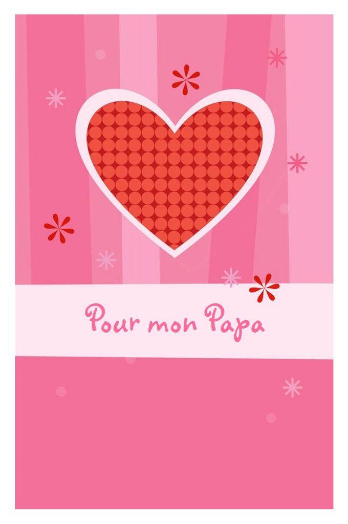 Cartes Bonne Fête PAPA , à imprimer !