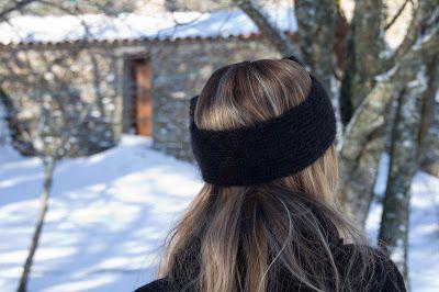 Tuto tricot :  un joli bandeau gros noeud  , tendance et facile à réaliser en suivant ses explications en Français