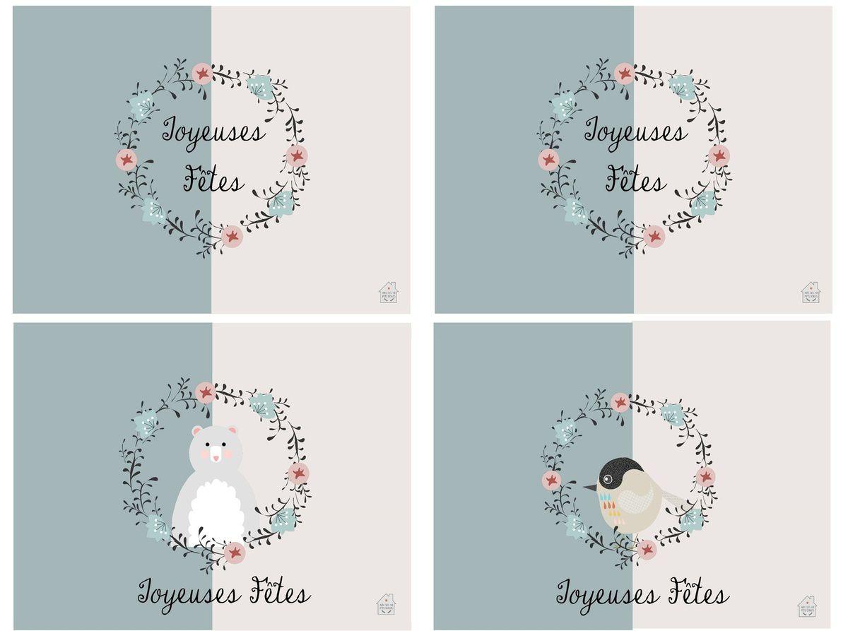 Kit de Noël à imprimer : étiquettes , petites cartes , to do list !
