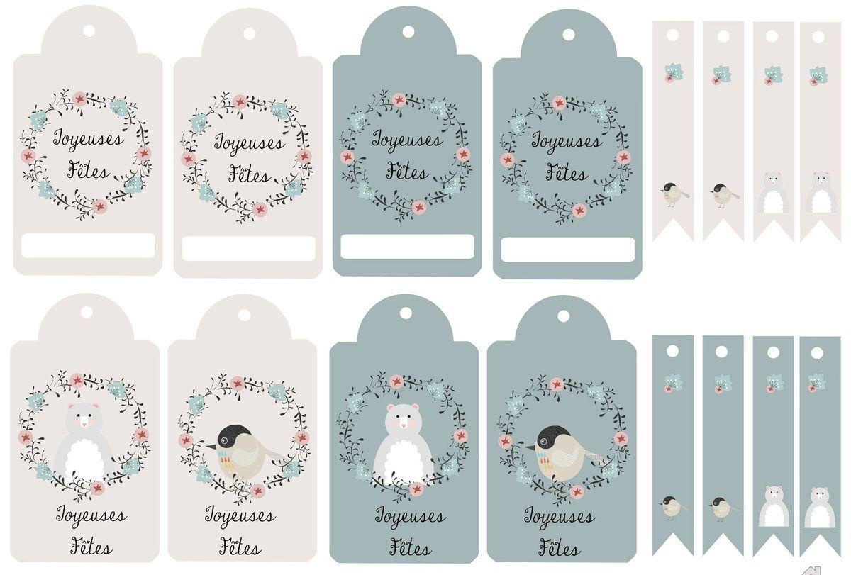 Fabulous Kit de Noël à imprimer : étiquettes , petites cartes , to do list  OI94