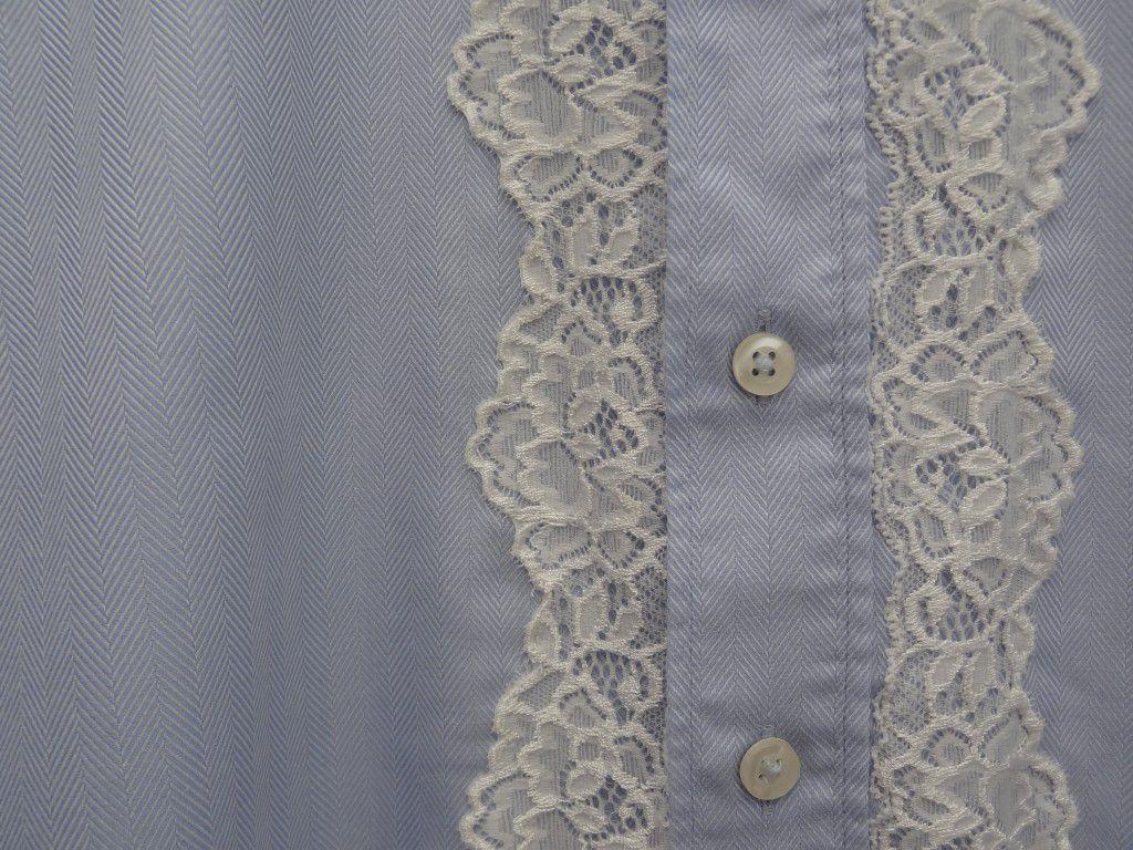 Tuto couture : réaliser une jolie blouse avec une chemise d'homme , facile à coudre !