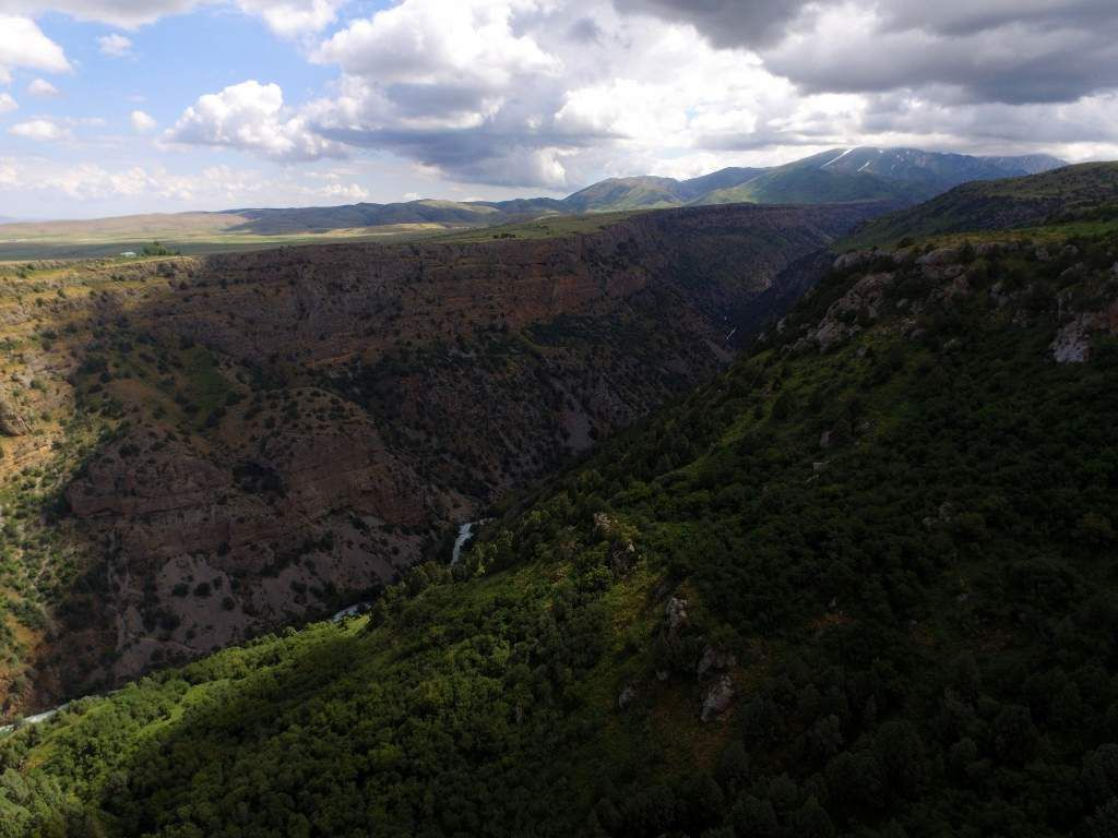 le canyon d'Aksou