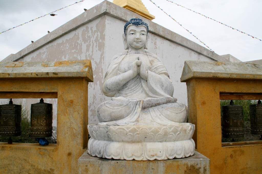 le monastère d'Amarbayasgalant