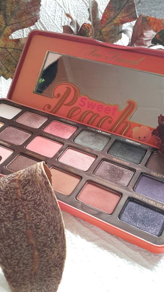 ♡ Zoom sur la palette Sweet Peach de Too Faced
