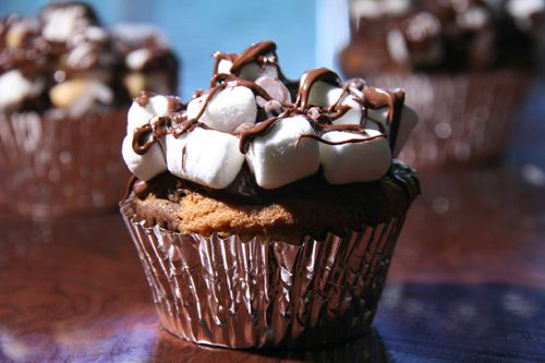 Recette Cupcake rocky road