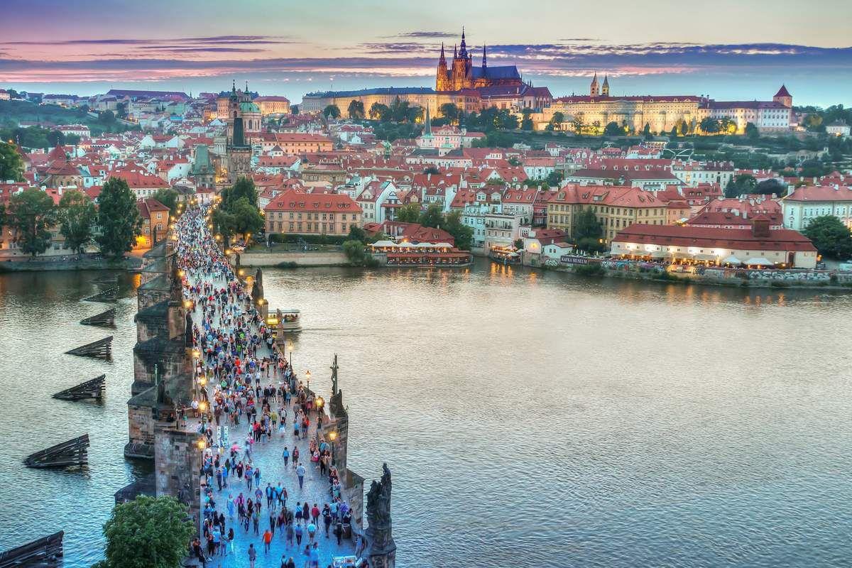 203€ - Prague en hôtel 5* - 3J/2N - Août 2017 - Au départ de Paris