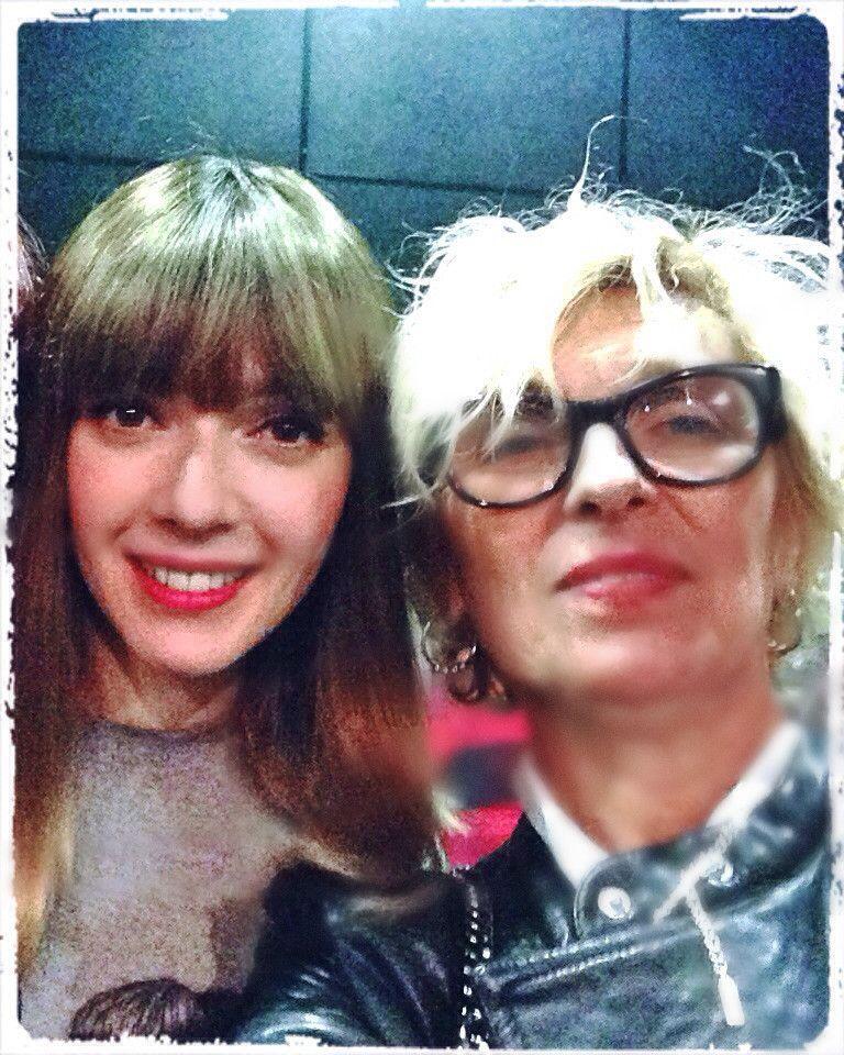 Avec Sylvie au Bikini et au Zénith !