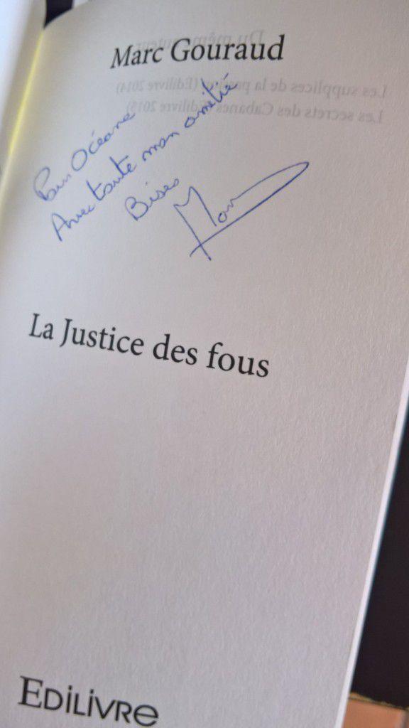 La Justice des Fous  – Marc Gouraud