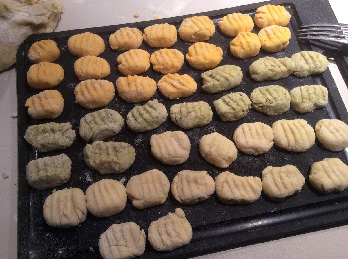 Gnocchi du potager et tomme au foin