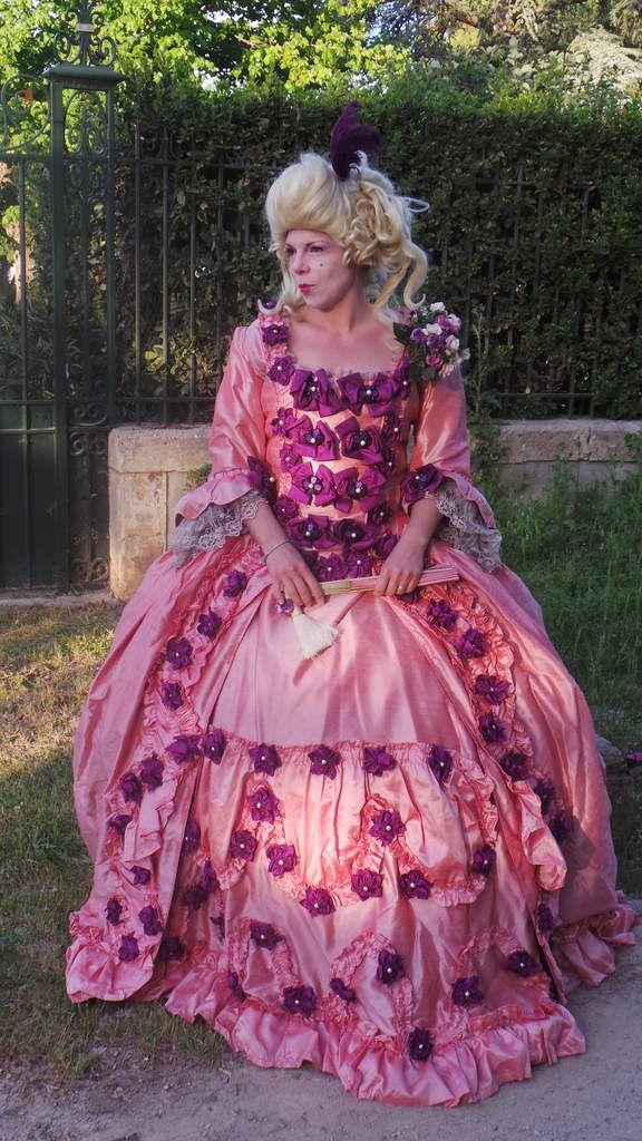 Photoshoot Robe Madame de Pompadour