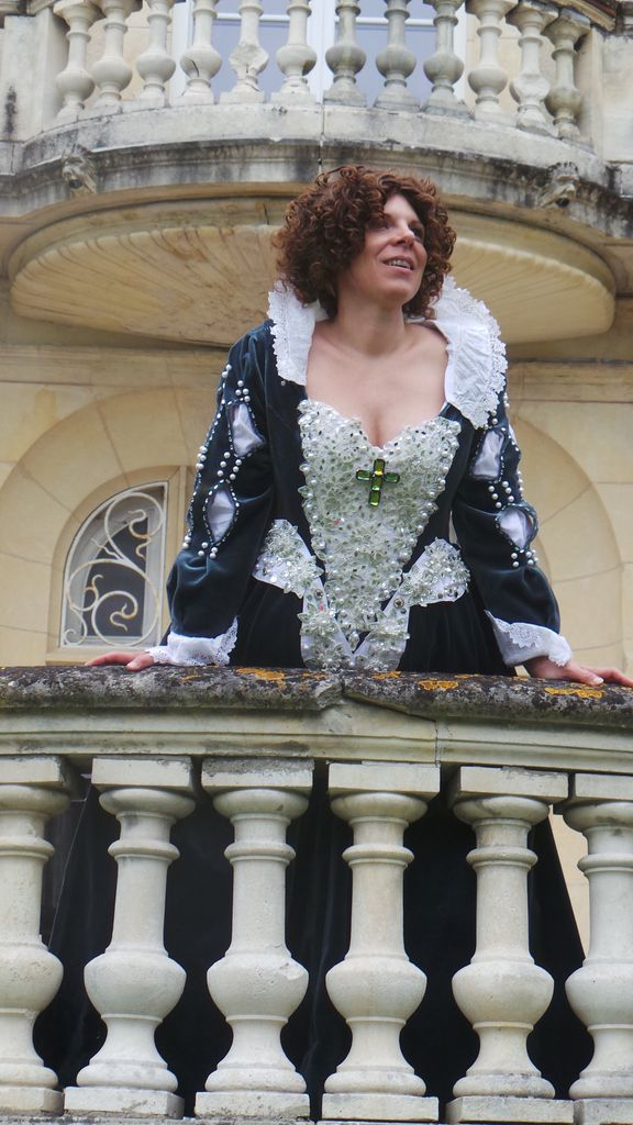 Photoshoot Robe Anne d'Autriche