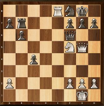 18) Trait aux blancs. Echec et mat en 3 coups...