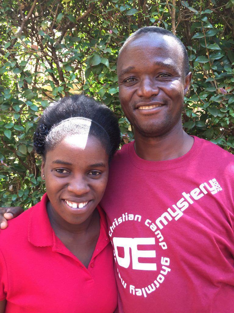 Phiona Mutesi et Robert Katende